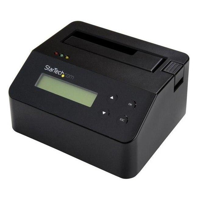 StarTech.com Drive Dock External - Black - TAA Compliant