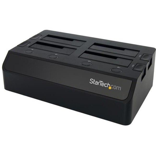 StarTech.com Drive Dock - USB 3.0 Type B Host Interface - UASP Support External - Black