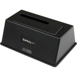 StarTech.com Drive Dock Serial ATA/600 - USB 3.0 Type B Host Interface - UASP Support External - Black