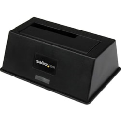 StarTech.com Drive Dock - USB 3.0 Type B, eSATA Host Interface - UASP Support External - Black