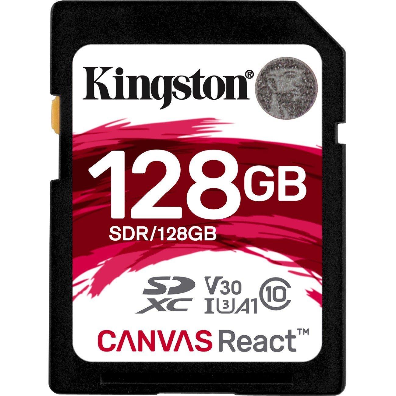 Kingston Canvas React 128 GB SDXC