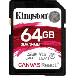 Kingston Canvas React 64 GB SDXC