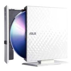 Asus SDRW-08D2S-U DVD-Reader - Retail Pack - Black, White
