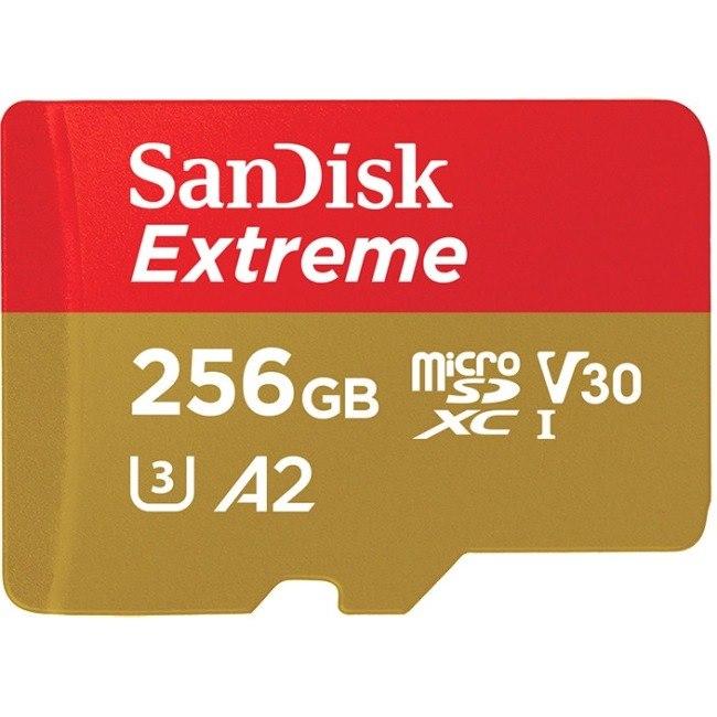 SanDisk Extreme 256 GB microSDXC