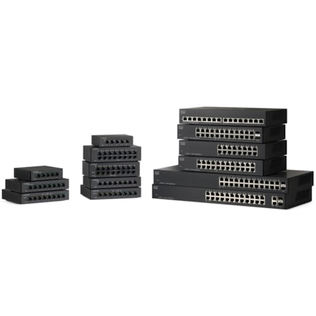 Cisco SF110D-08 8 Ports Ethernet Switch