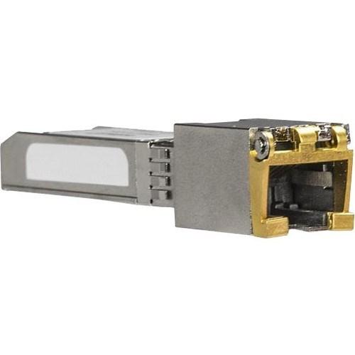 StarTech.com SFP+ - 1 RJ-45 Female Duplex 10GBase-T Network LAN