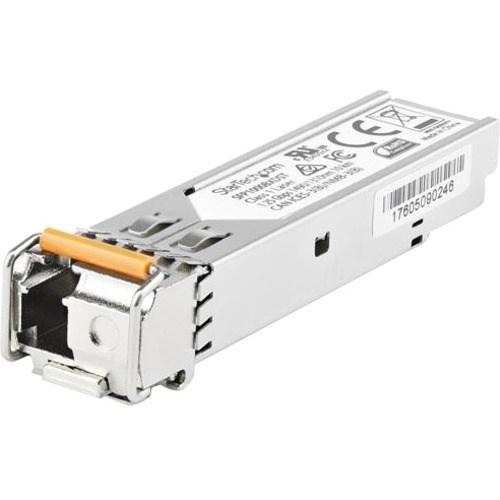 StarTech.com SFP (mini-GBIC) - 1 LC Duplex 1000BASE-BX10-U Network