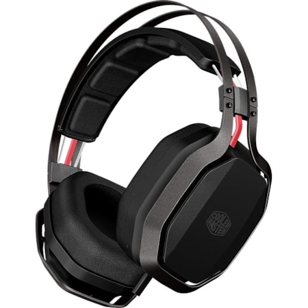 Cooler Master MasterPulse Wired 44 mm Stereo Headset - Over-the-head - Circumaural - Black