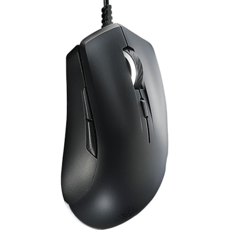 Cooler Master MasterMouse Lite S SGM-1006-KSOA1 Mouse - PixArt PAW3509 - Cable - 6 Button(s) - Black