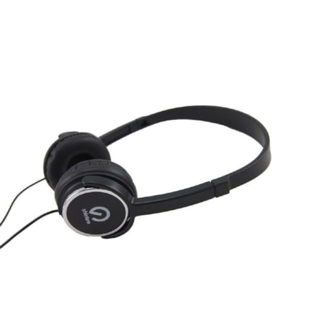 Shintaro Wired Over-the-head Binaural Stereo Headphone - Black