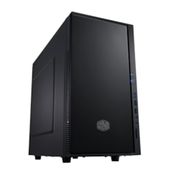 Cooler Master Silencio SIL-352M-KKN1 Computer Case - Micro ATX, Mini ITX Motherboard Supported - Mini-tower - Polymer, Steel - Midnight Black - 4.70 kg