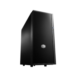 Cooler Master Silencio SIL-452-KKN1 Computer Case - ATX, Micro ATX Motherboard Supported - Mid-tower - Polymer, Steel - Midnight Black - 6.14 kg