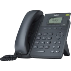 Yealink SIP-T19P E2 IP Phone - Corded - Corded - Desktop, Wall Mountable