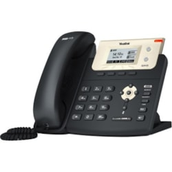 Yealink SIP-T21P E2 IP Phone - Corded - Corded - Wall Mountable, Desktop - Charcoal