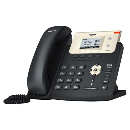 Yealink SIP-T21P E2 IP Phone - Wall Mountable, Desktop - Charcoal