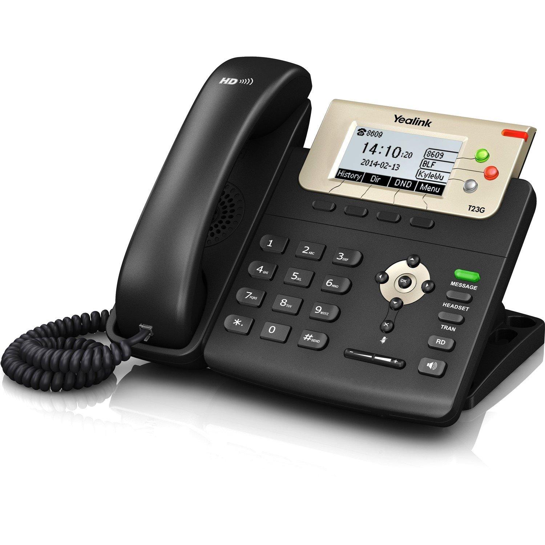 Yealink SIP-T23G IP Phone - Wall Mountable - Black