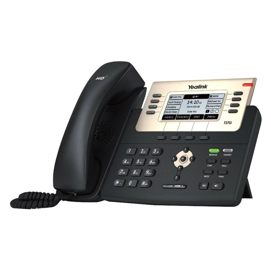 Yealink SIP-T27G IP Phone - Wall Mountable, Desktop