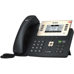 Yealink SIP-T27G IP Phone - Corded - Wall Mountable, Desktop