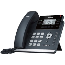 Yealink SIP-T41S IP Phone - Corded - Wall Mountable, Desktop - Black