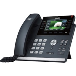 Yealink SIP-T46S IP Phone - Corded - Wall Mountable, Desktop - Black