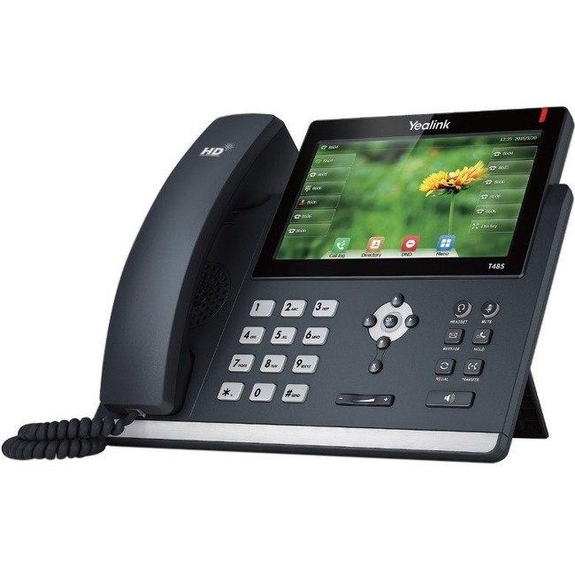 Yealink SIP-T48S IP Phone - Wall Mountable, Desktop - Black