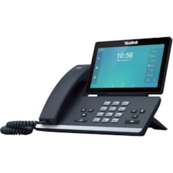 Yealink SIP-T56A IP Phone - Wired/Wireless - Wi-Fi, Bluetooth - Wall Mountable, Desktop - Black