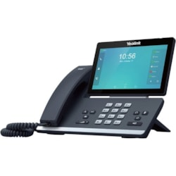 Yealink SIP-T58A IP Phone - Wired/Wireless - Bluetooth, Wi-Fi - Wall Mountable, Desktop - Black
