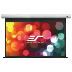"Elite Screens Saker SK100NXW-E24 Electric Projection Screen - 254 cm (100"") - 16:10 - Wall/Ceiling Mount"