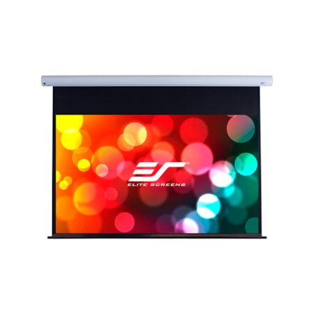 "Elite Screens Saker SK150XHW-E12 Electric Projection Screen - 381 cm (150"") - 16:9 - Wall/Ceiling Mount"