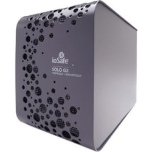 "ioSafe Solo G3 3 TB Hard Drive - SATA - 3.5"" Drive - External - Black"
