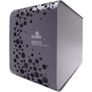 "ioSafe Solo G3 3 TB Hard Drive - 3.5"" External - SATA - Black"