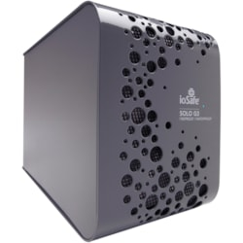 "ioSafe Solo G3 4 TB Hard Drive - SATA - 3.5"" Drive - External - Desktop"