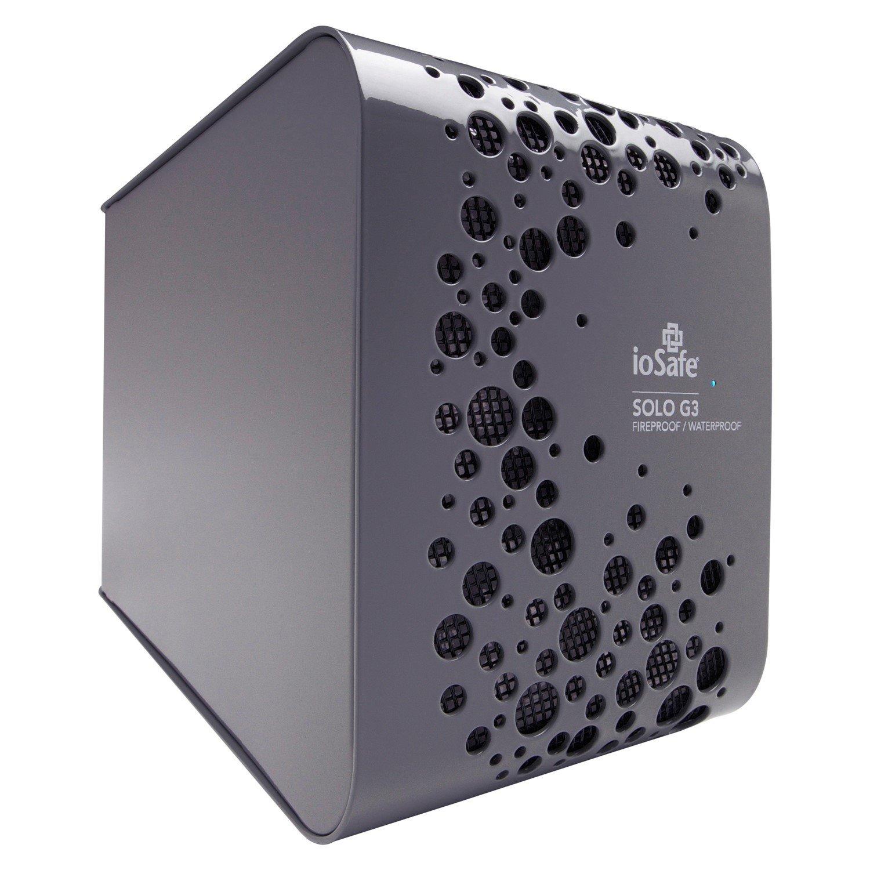 "ioSafe Solo G3 4 TB 3.5"" External Hard Drive - SATA - Desktop"