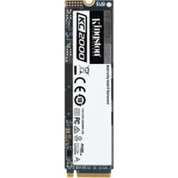 Kingston KC2000 500 GB Solid State Drive - M.2 2280 Internal - PCI Express (PCI Express 3.0 x4)