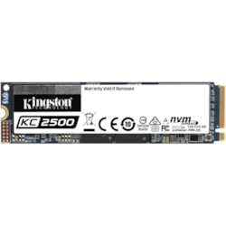 Kingston KC2500 250 GB Solid State Drive - M.2 2280 Internal - PCI Express NVMe (PCI Express NVMe 3.0 x4)