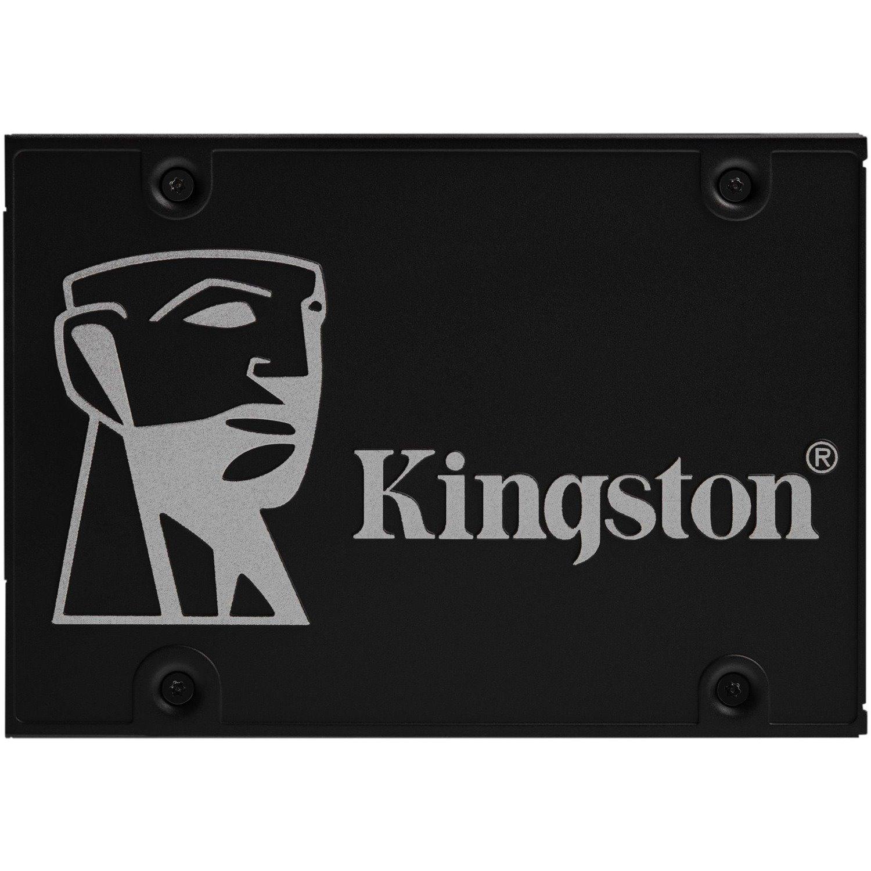 "Kingston KC600 1 TB Solid State Drive - 2.5"" Internal - SATA (SATA/600)"