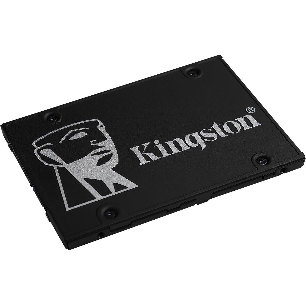 "Kingston KC600 256 GB Solid State Drive - 2.5"" Internal - SATA (SATA/600)"