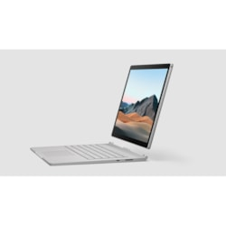 "Microsoft Surface Book 3 34.3 cm (13.5"") Touchscreen 2 in 1 Notebook - 3000 x 2000 - Intel Core i7 (10th Gen) i7-1065G7 Quad-core (4 Core) 1.30 GHz - 16 GB RAM - 256 GB SSD - Silver"