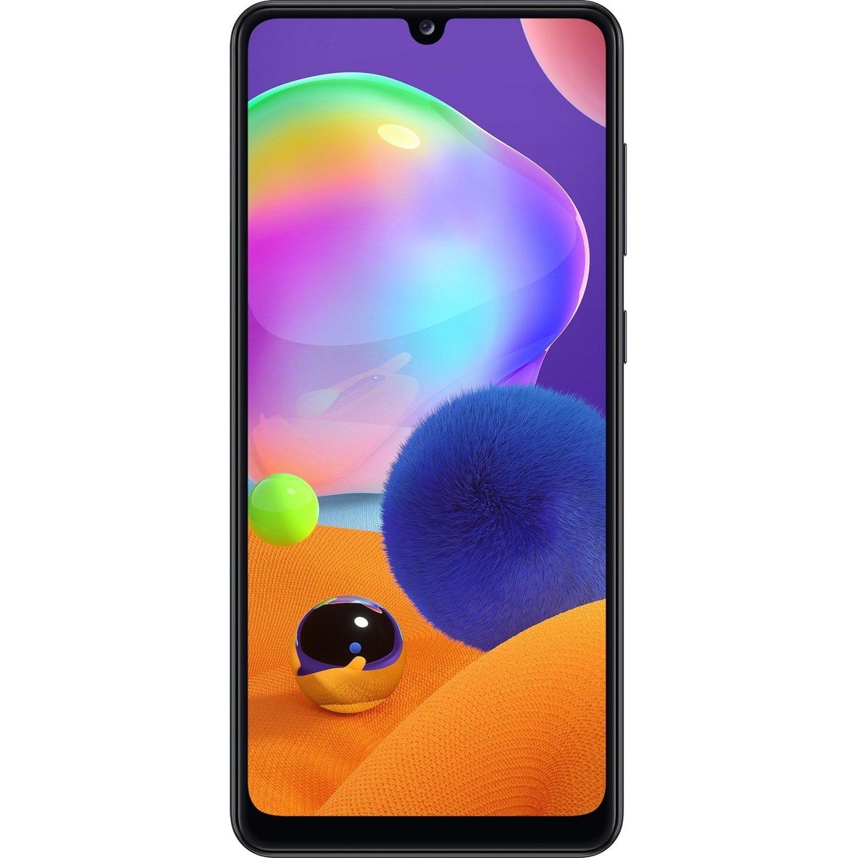 "Samsung Galaxy A31 SM-A315G/DS 128 GB Smartphone - 16.3 cm (6.4"") Super AMOLED Full HD Plus 1080 x 2400 - 4 GB RAM - Android 10 - 4G - Prism Crush Black"