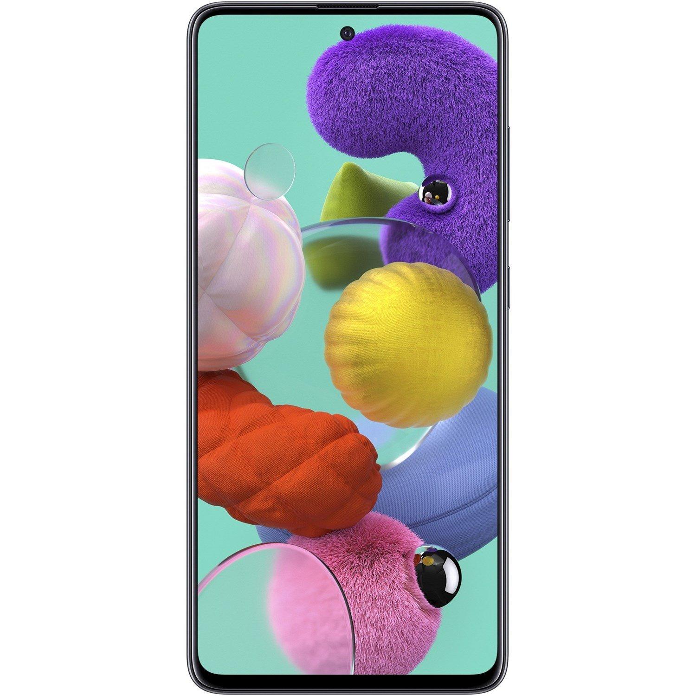 """Samsung Galaxy A51 SM-A515F/N 128 GB Smartphone - 16.5 cm (6.5"""") Full HD Plus - 6 GB RAM - Android 10 - 4G - Prism Crush Black"""