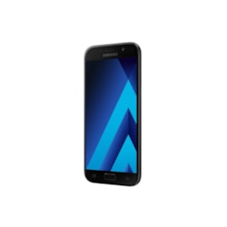 "Samsung Galaxy A5 SM-A520F 32 GB Smartphone - Black - 13.2 cm (5.2"") Super AMOLED Full HD Touchscreen - 3 GB RAM - 4G - 16 Megapixel Rear/Android 6.0.1 Marshmallow - SIM-free"