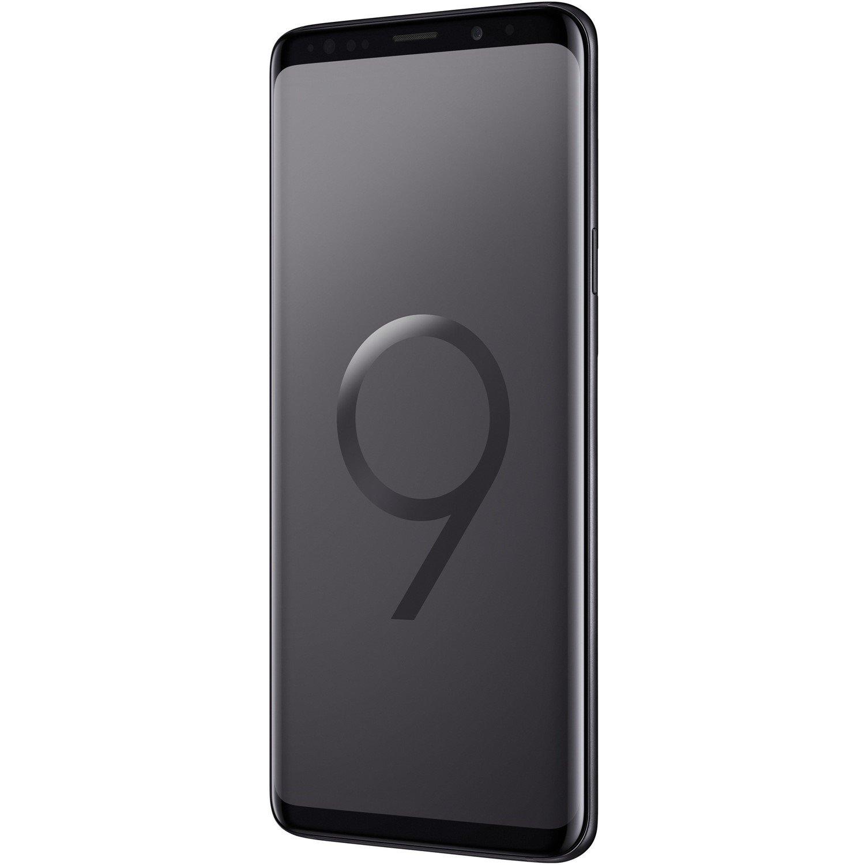 "Samsung Galaxy S9 SM-G960F 64 GB Smartphone - Black - 14.7 cm (5.8"") Super AMOLED QHD+ Touchscreen - 4 GB RAM - 4G - 12 Megapixel Rear/Android 8.0 Oreo - SIM-free"