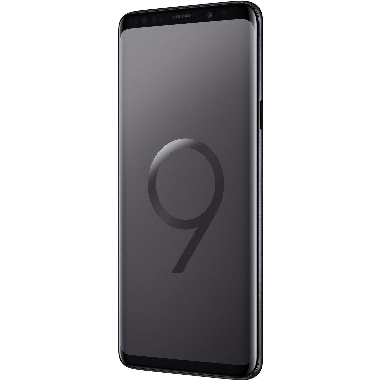 "Samsung Galaxy S9+ SM-G965F 64 GB Smartphone - Black - 15.7 cm (6.2"") Super AMOLED QHD+ Touchscreen - 6 GB RAM - 4G - Quad-core (4 Core) 2.70 GHz, Cortex A55 Quad-core (4 Core) 1.80 GHz - 12 Megapixel Rear/8 Megapixel Front - Android 8.0 Oreo - SIM-free"