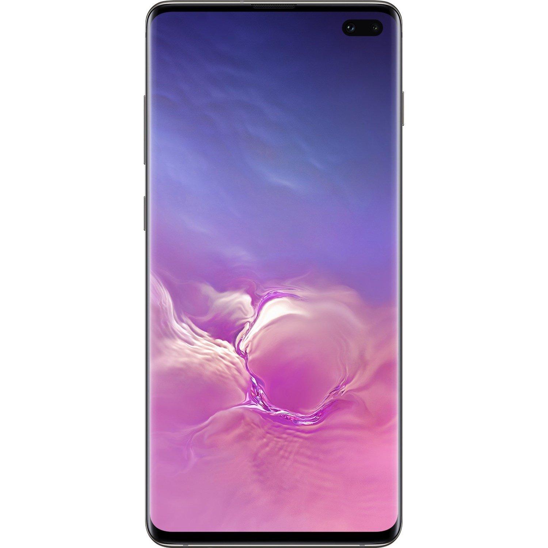 "Samsung Galaxy S10+ SM-G975F 128 GB Smartphone - 16.3 cm (6.4"") AMOLED QHD+ 3040 x 1440 - 8 GB RAM - Android 9.0 Pie - 4G - Prism Black"