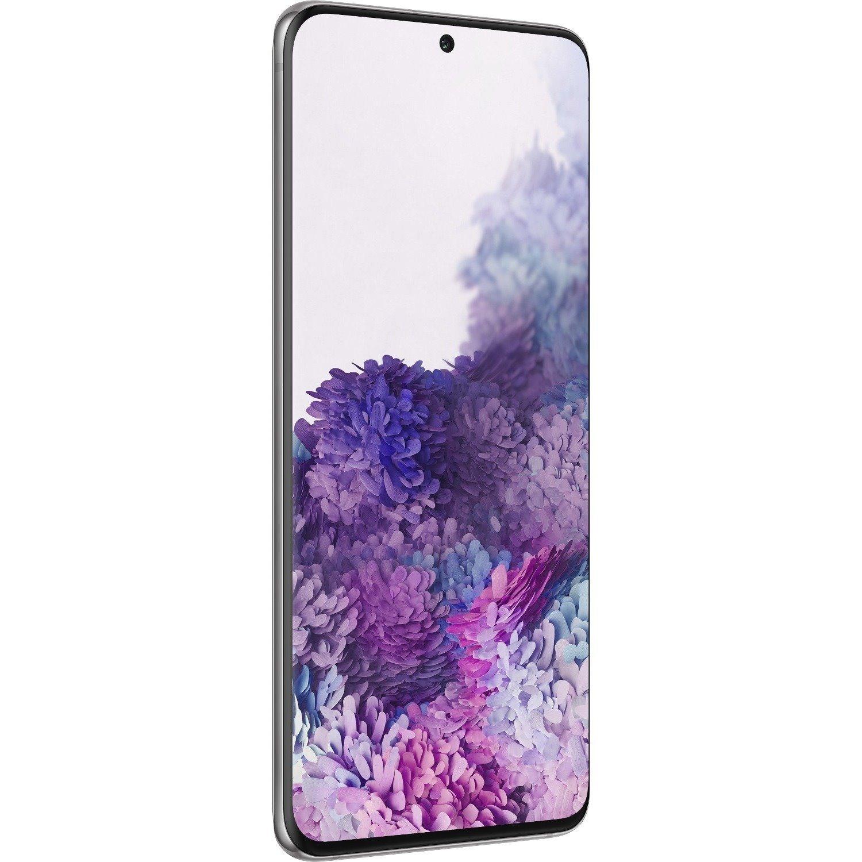 "Samsung Galaxy S20 SM-G981B 128 GB Smartphone - 15.7 cm (6.2"") Dynamic AMOLED QHD+ 3200 x 1440 - 12 GB RAM - Android 10 - 5G - Cosmic Gray"