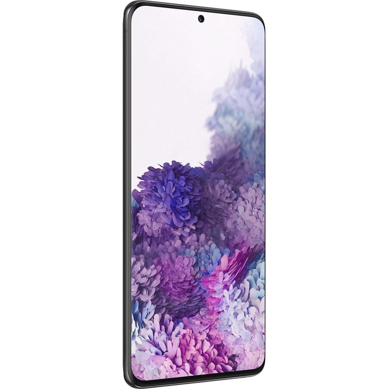 "Samsung Galaxy S20+ SM-G986B 128 GB Smartphone - 17 cm (6.7"") Dynamic AMOLED QHD+ 3200 x 1440 - 12 GB RAM - Android 10 - 5G - Cosmic Black"