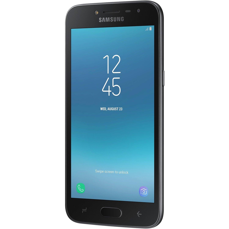 "Samsung Galaxy J2 Pro SM-J250G 16 GB Smartphone - Black - 12.7 cm (5"") Super AMOLED qHD Touchscreen - 1.50 GB RAM - 4G - 8 Megapixel Rear/5 Megapixel Front - Android 7.0 Nougat - SIM-free"