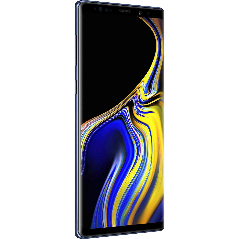 """Samsung Galaxy Note 9 SM-N960F 128 GB Smartphone - 16.3 cm (6.4"""") QHD+ - 6 GB RAM - Android 8.1 Oreo - 4G - Ocean Blue"""