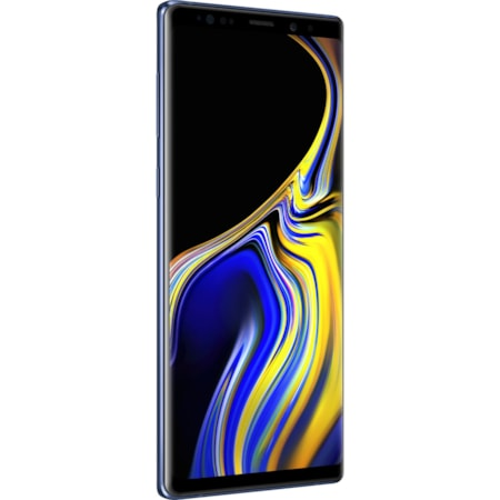 "Samsung Galaxy Note 9 SM-N960F 128 GB Smartphone - Ocean Blue - 16.3 cm (6.4"") Super AMOLED QHD+ Touchscreen - 6 GB RAM - 4G - Quad-core (4 Core) 2.70 GHz, Cortex A55 Quad-core (4 Core) 1.80 GHz - 12 Megapixel Rear/8 Megapixel Front - Android 8.1 Oreo - SIM-free"