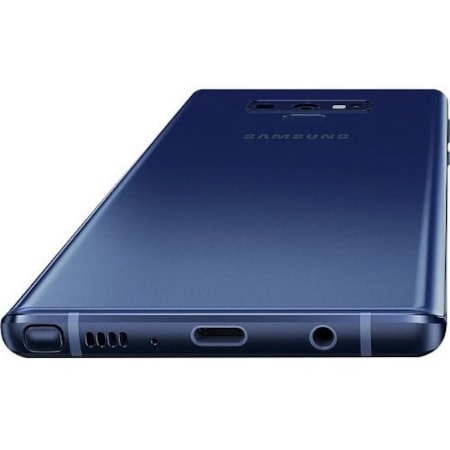 "Samsung Galaxy Note 9 SM-N960F 512 GB Smartphone - Ocean Blue - 16.3 cm (6.4"") Super AMOLED QHD+ Touchscreen - 8 GB RAM - 4G - Quad-core (4 Core) 2.70 GHz, Cortex A55 Quad-core (4 Core) 1.80 GHz - 12 Megapixel Rear/8 Megapixel Front - Android 8.1 Oreo - SIM-free"